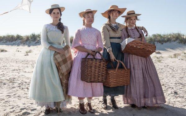 Movie Little Women (2019) Little Women Emma Watson Eliza Scanlen HD Wallpaper | Background Image