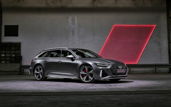 Vehicles Audi RS6 Avant Audi Audi RS6 Luxury Car Car Station Wagon HD Wallpaper   Background Image