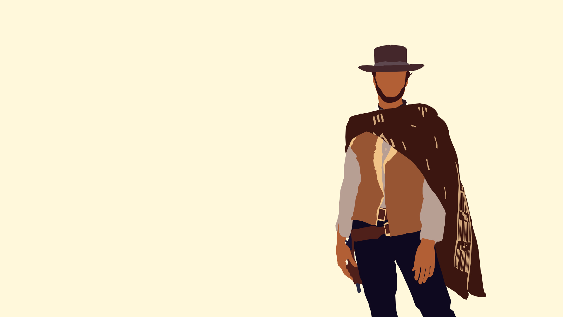 The Man With No Name Clint Eastwood Hd Wallpaper Background