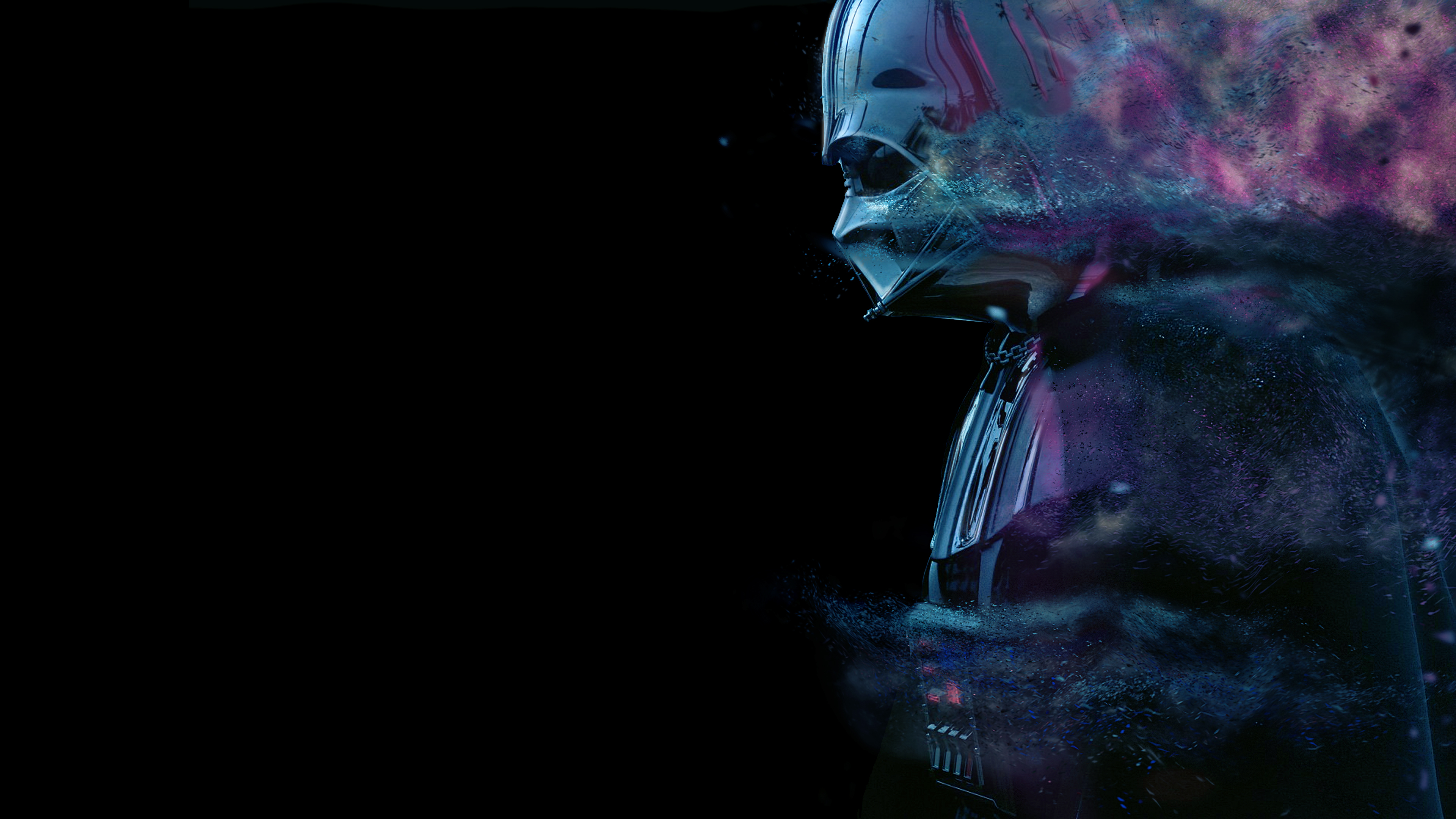 Neon Vader 4k Ultra Hd Wallpaper Background Image 3840x2160 Id 1041660 Wallpaper Abyss