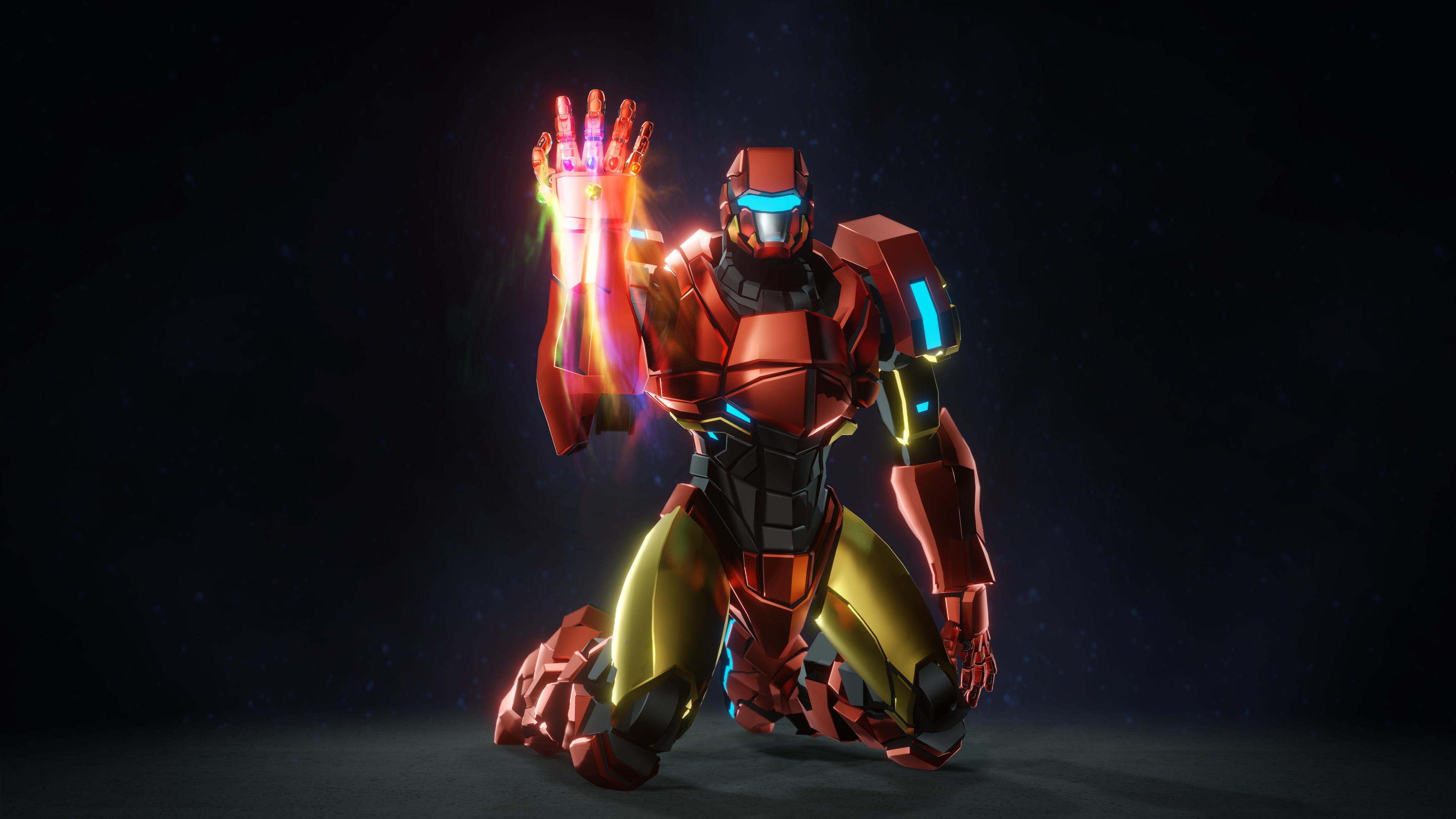 Iron Man 4k Ultra Hd Wallpaper Hintergrund 3840x2160