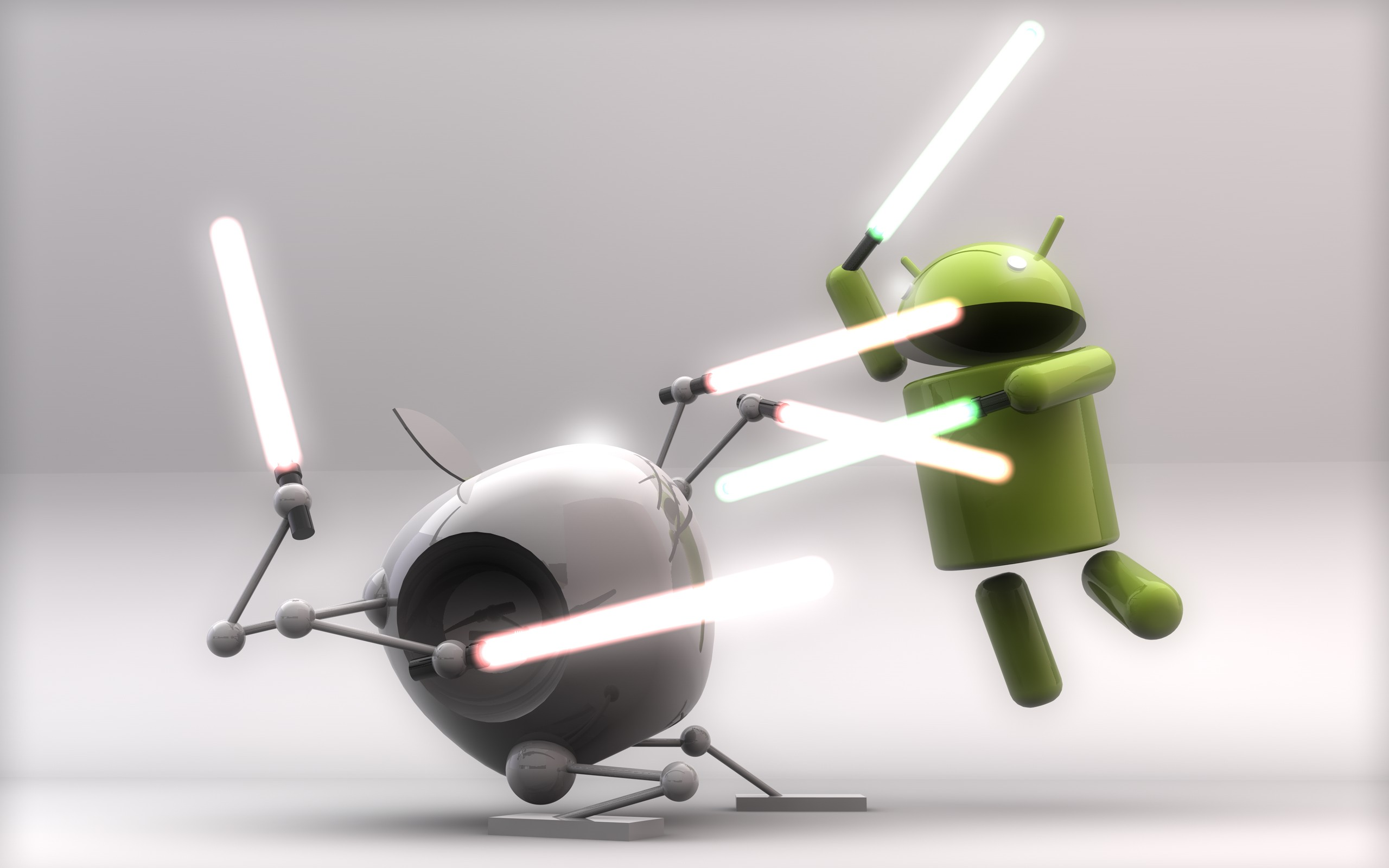 Technologie - Artistique  Lightsaber Apple Inc. Google Fond d'écran