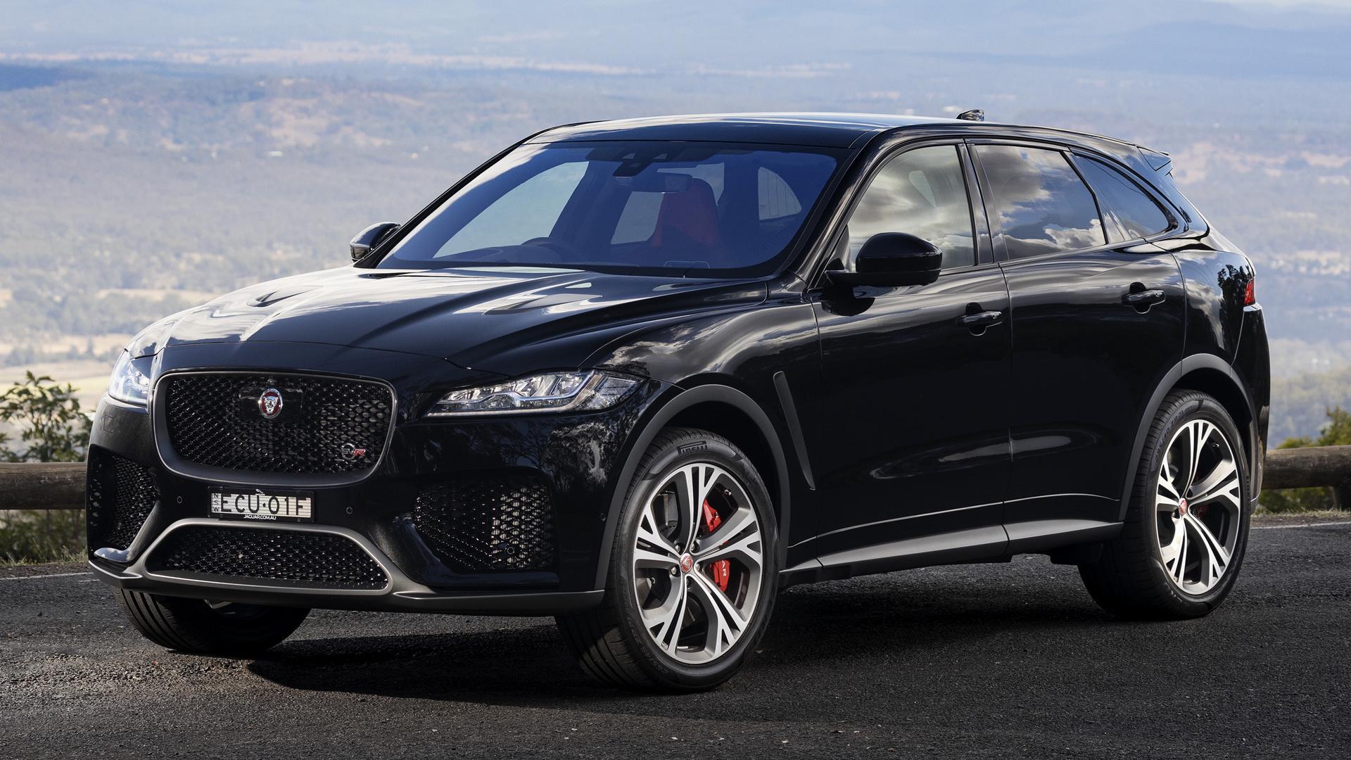 2019 Jaguar F-Pace SVR HD Wallpaper   Background Image ...