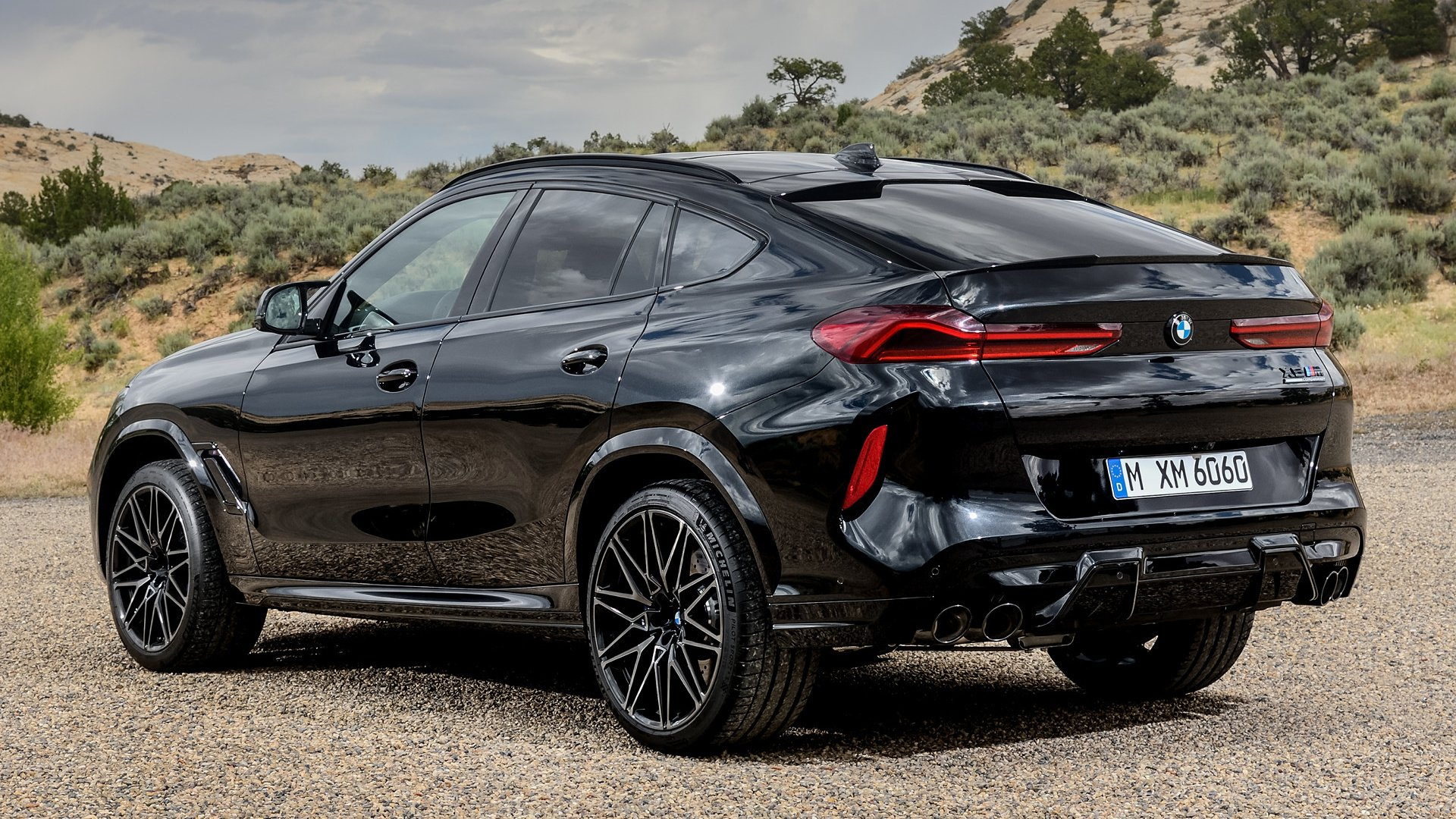 2019 Bmw X6 M Competition Papel De Parede Hd Plano De Fundo 1920x1080 Id 1044108 Wallpaper Abyss