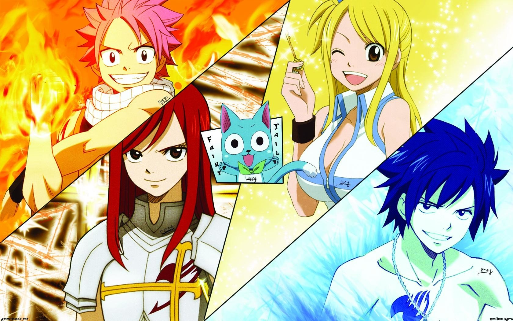 970 Fairy Tail HD Wallpapers