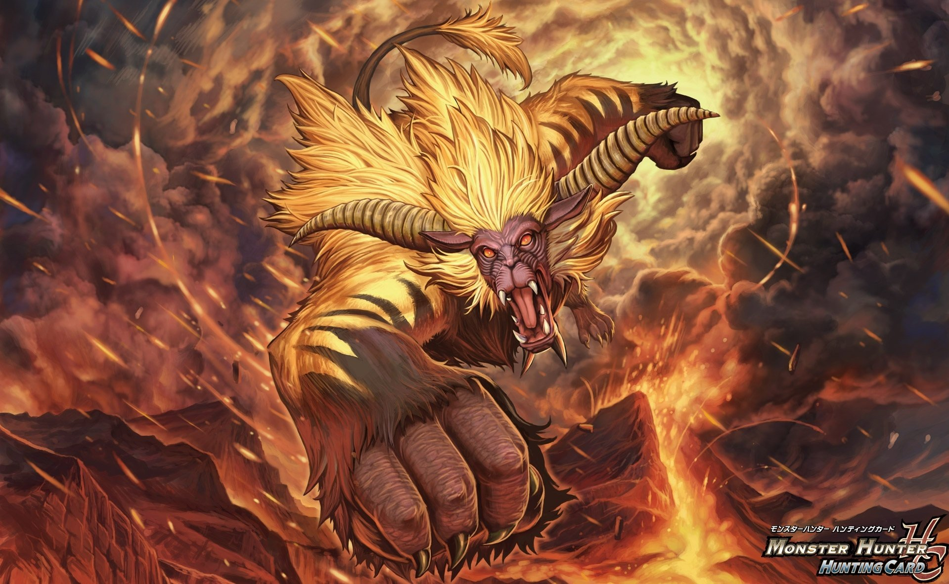 Video Game - Monster Hunter  Rajang (Monster Hunter) Wallpaper