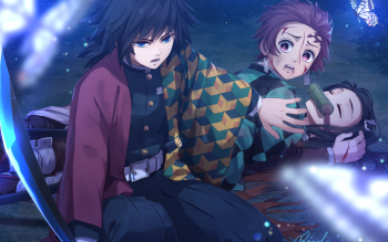 87 Giyuu Tomioka Hd Wallpapers Background Images Wallpaper Abyss
