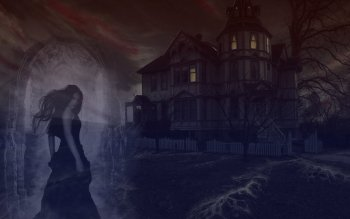 Dark - Haunted Wallpapers and Backgrounds ID : 104555