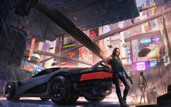 259 4k Ultra Hd Cyberpunk 2077 Wallpapers Background Images Wallpaper Abyss