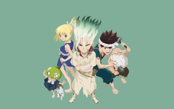 Anime Dr. Stone Senku Ishigami Kohaku Suika Chrome Kaseki HD Wallpaper | Background Image