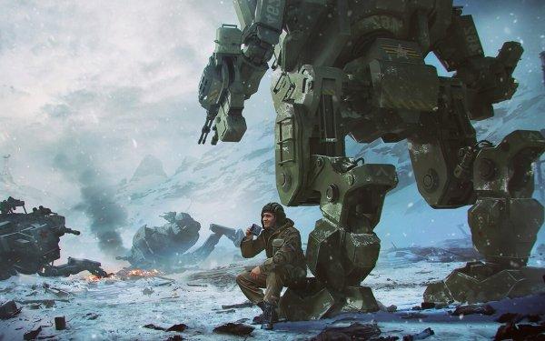 Sci Fi Robot Mecha HD Wallpaper | Background Image