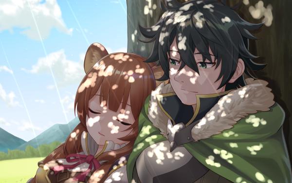 Anime Tate no Yūsha no Nariagari Raphtalia Naofumi Iwatani Fondo de pantalla HD   Fondo de Escritorio