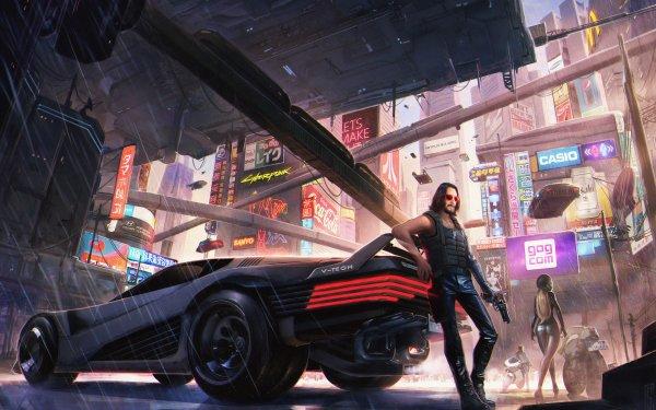 Videogioco Cyberpunk 2077 Johnny Silverhand HD Wallpaper | Sfondo