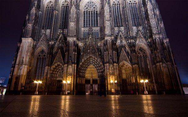 Religious Cologne Cathedral Cathedrals HD Wallpaper | Background Image