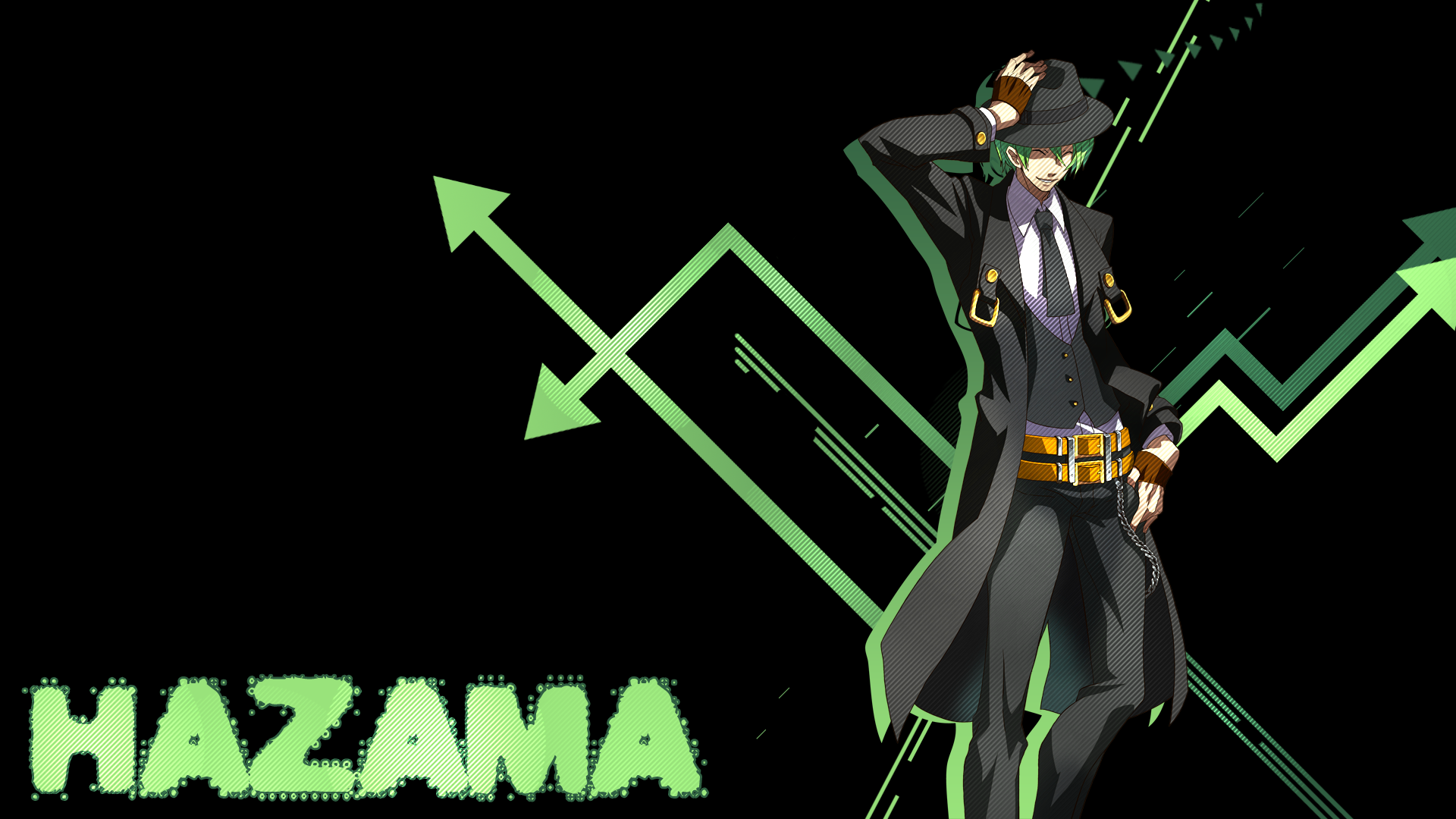 Anime - Blazblue  Hazama Wallpaper