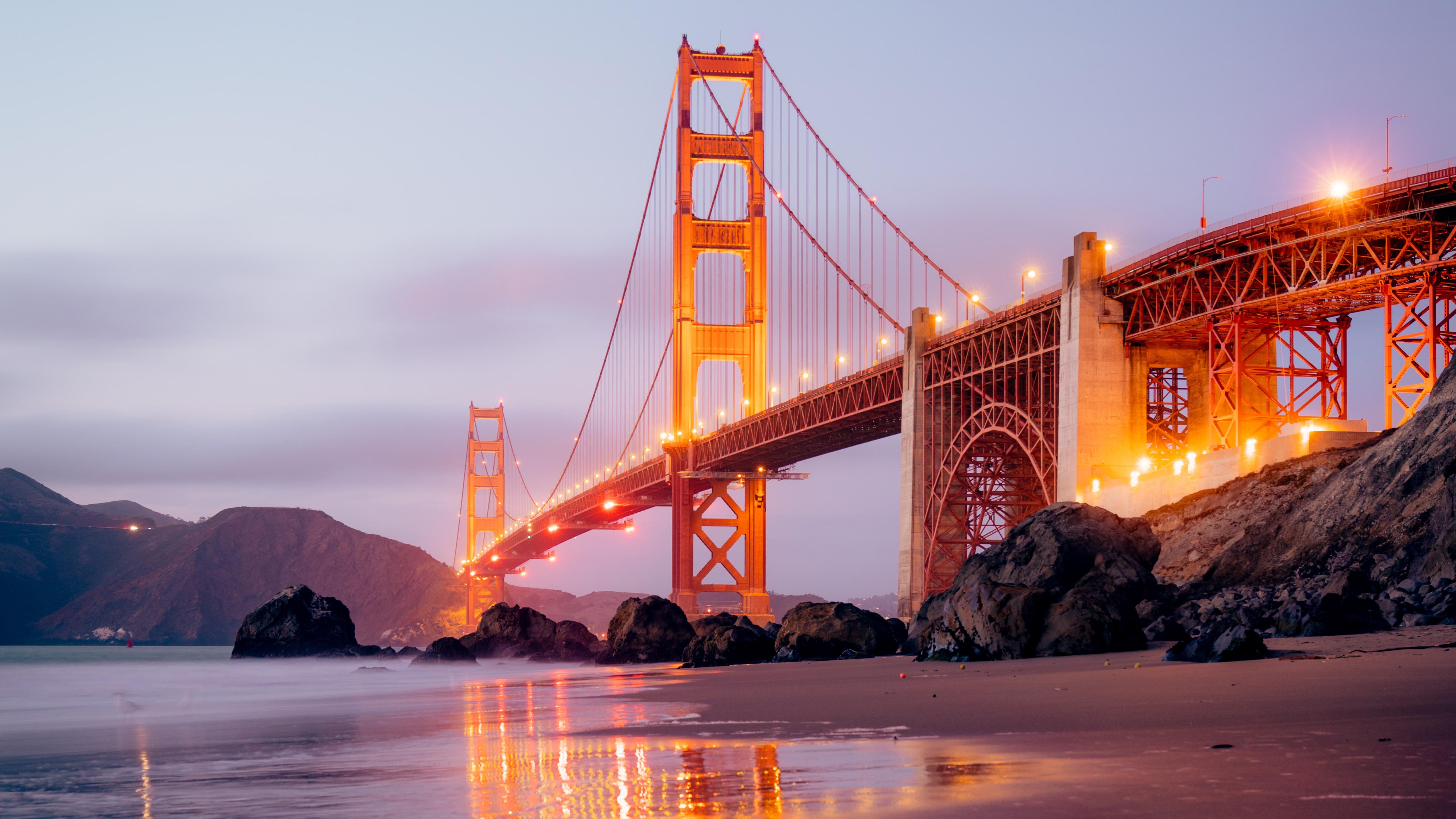 Golden Gate Bridge San Francisco 5k Retina Ultra Hd Wallpaper Background Image 5120x2880 Id 1052036 Wallpaper Abyss