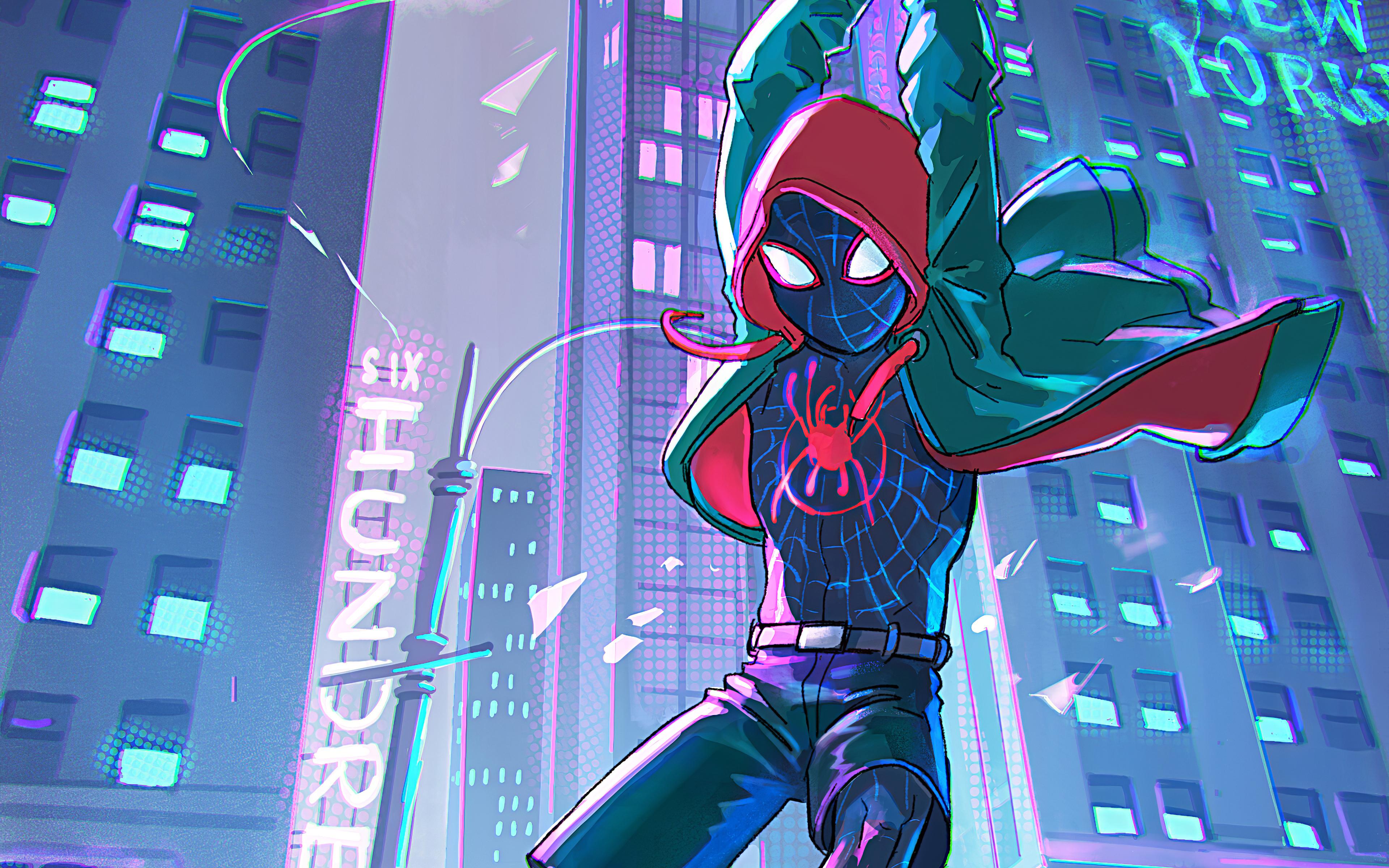 Spider Man Into The Spider Verse 4k Ultra Hd Wallpaper