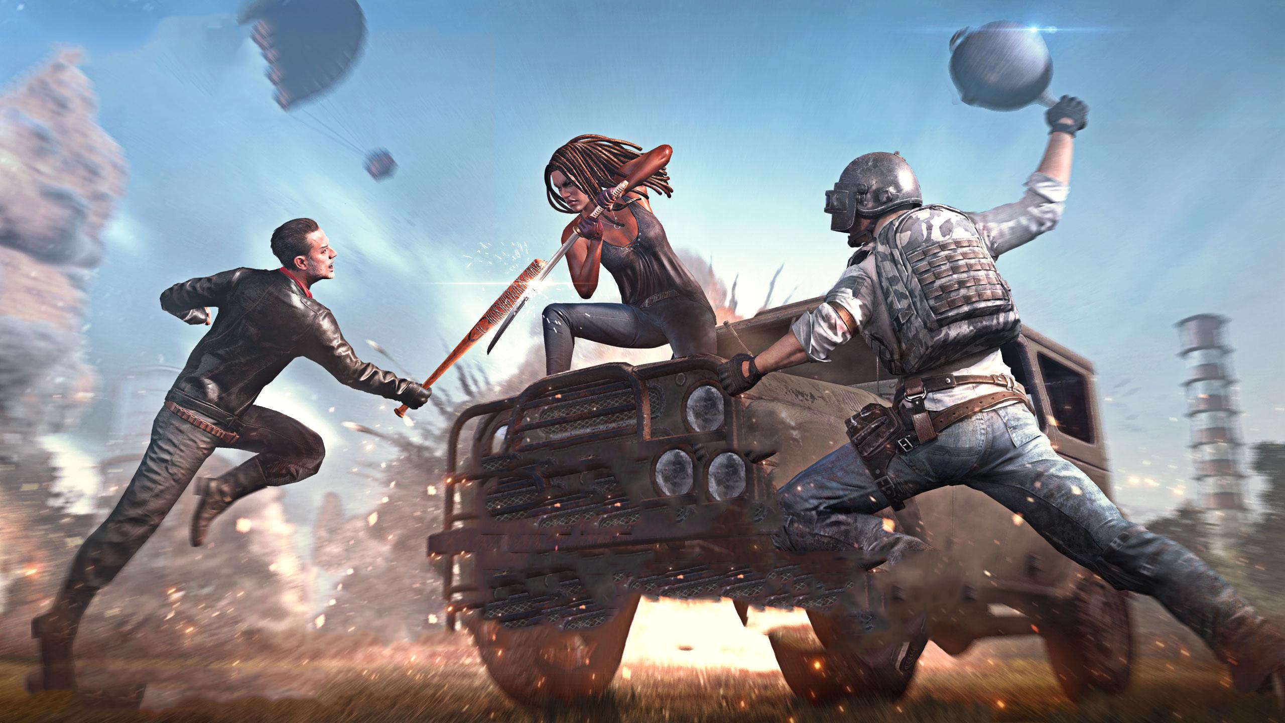 PlayerUnknown's Battlegrounds HD Wallpaper | Background Image | 2560x1440 |  ID:1056423 - Wallpaper Abyss