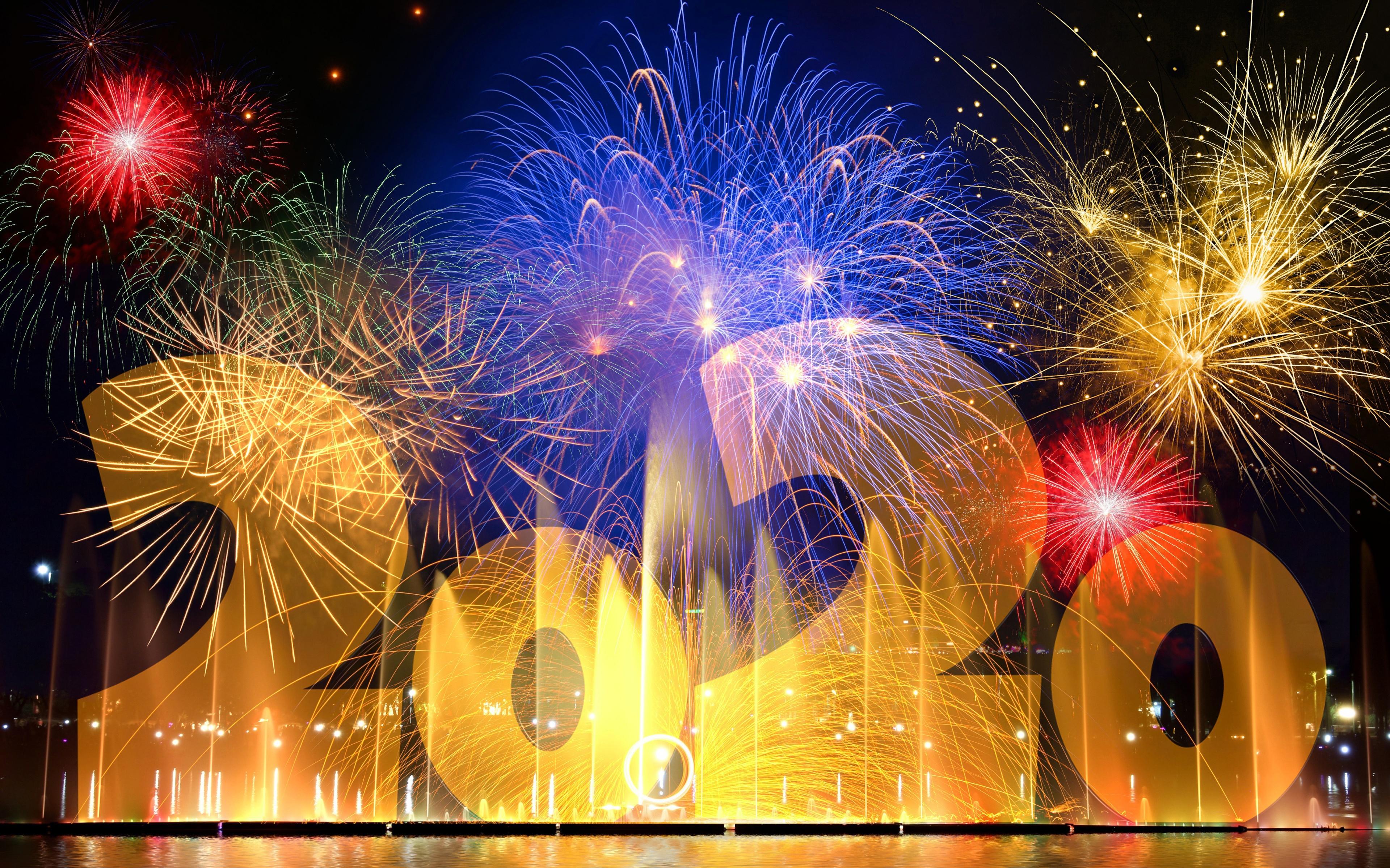 New Year 2020 4k Ultra Hd Wallpaper Background Image 3840x2400