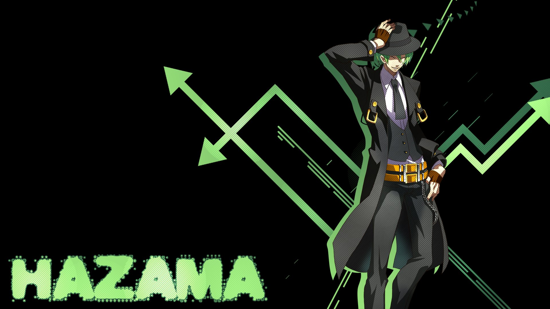 Anime - Blazblue  Hazama (Blazblue) Wallpaper