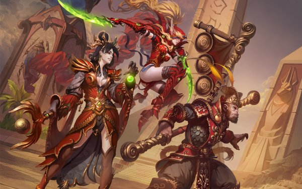 Video Game Heroes of the Storm Valeera Sanguinar Wizard HD Wallpaper   Background Image