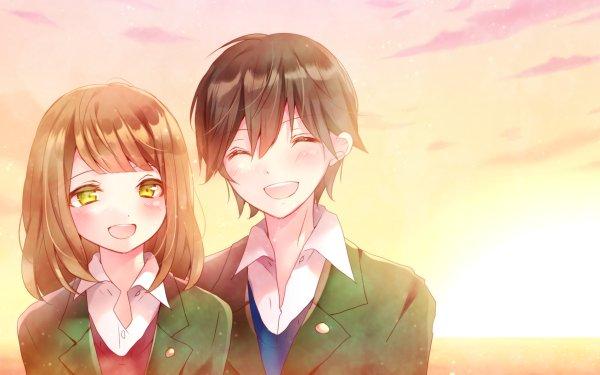 Anime Orange Naho Takamiya Kakeru Naruse HD Wallpaper | Background Image