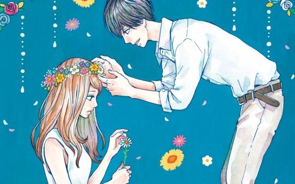 Anime Orange Kakeru Naruse Naho Takamiya HD Wallpaper | Background Image