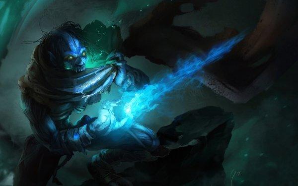 Dark Sorcerer Magic Creepy HD Wallpaper | Background Image
