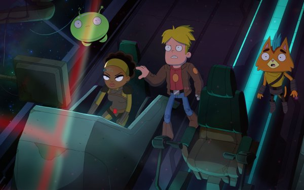 TV Show Final Space Gary Goodspeed Mooncake Little Cato Nightfall HD Wallpaper | Background Image