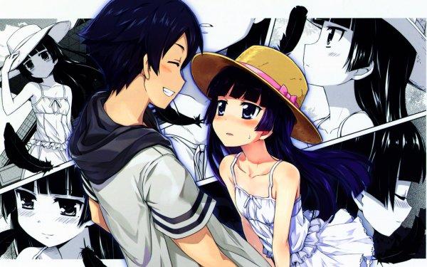 Anime Oreimo Kyōsuke Kōsaka Ruri Gokō Fond d'écran HD | Image