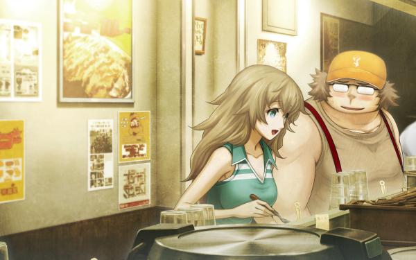 Anime Steins;Gate 0 Itaru Hashida Yuki Amane HD Wallpaper   Background Image
