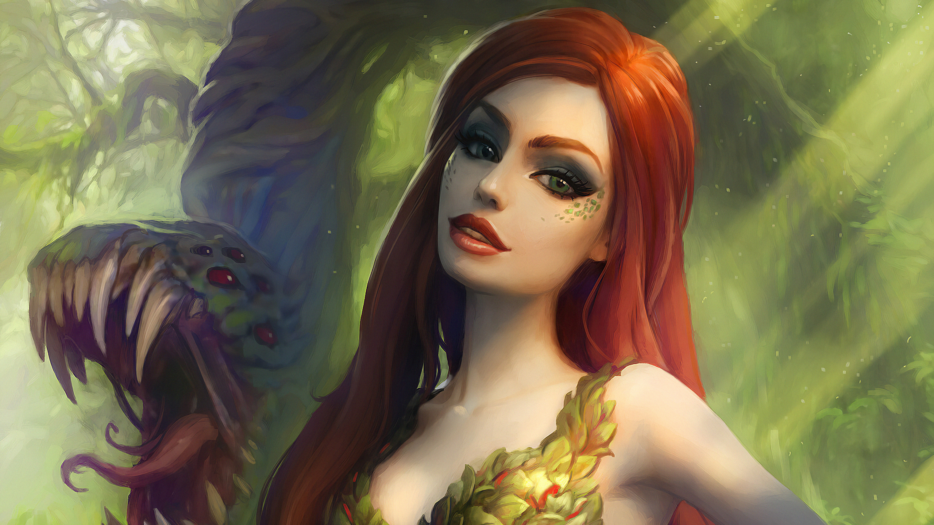 Poison Ivy HD Wallpaper | Background Image | 1920x1080