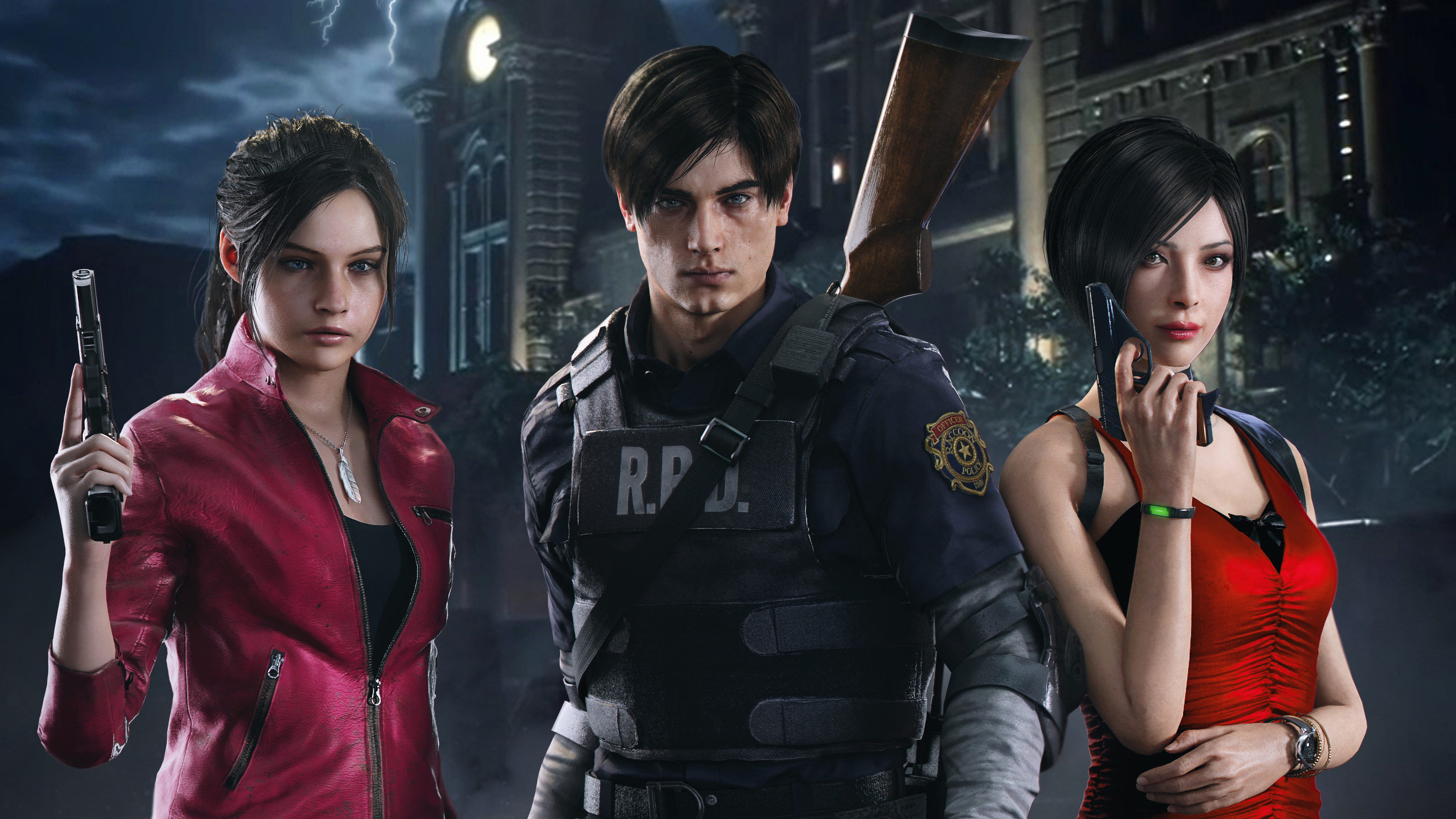 Resident Evil 2 (2019) 4k Ultra HD Wallpaper | Background Image ...