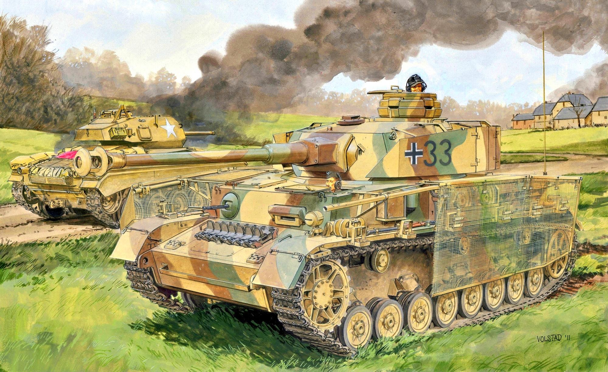 WW2 Landmark Scout Vehicles: Panzerkampfwagen IV ausf J
