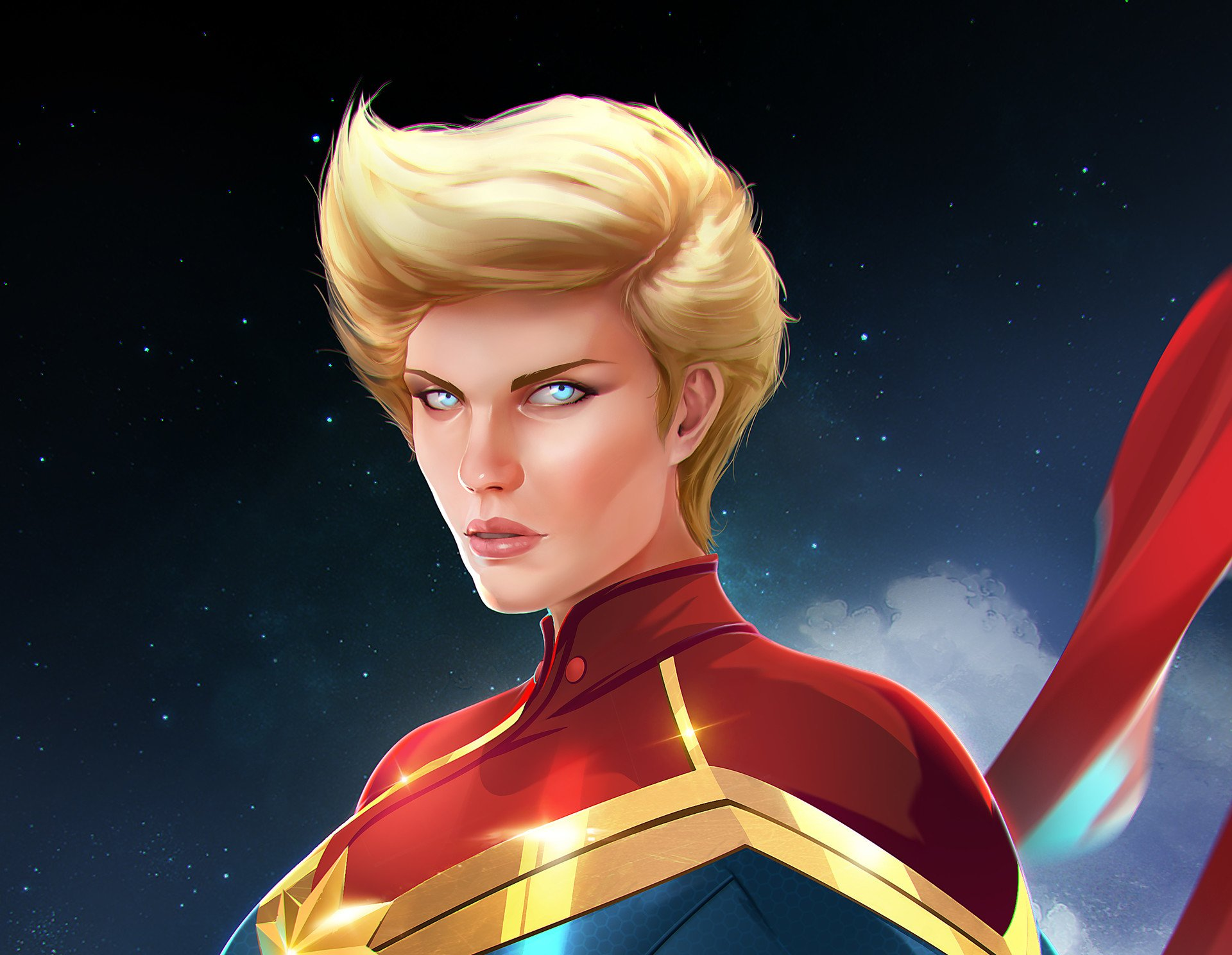 Captain Marvel Hd Wallpaper Background Image 1920x1488 Id 1061940 Wallpaper Abyss