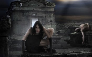Dark - Vampire Wallpapers and Backgrounds ID : 106245