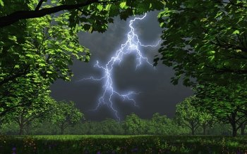 Photography - Lightning Wallpapers and Backgrounds ID : 106809