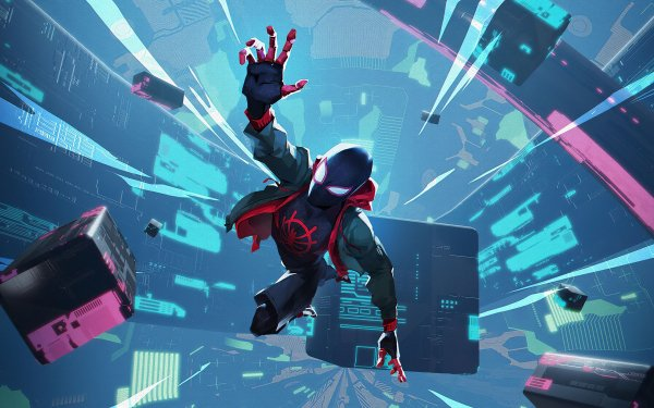 Movie Spider-Man: Into The Spider-Verse Spider-Man Marvel Comics Miles Morales HD Wallpaper   Background Image