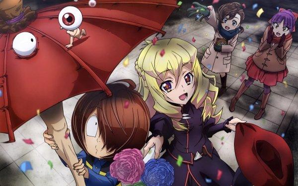 Anime GeGeGe no Kitaro Agnes Mana Inuyama Kitarō Medama-oyaji Neko Musume Fondo de pantalla HD | Fondo de Escritorio