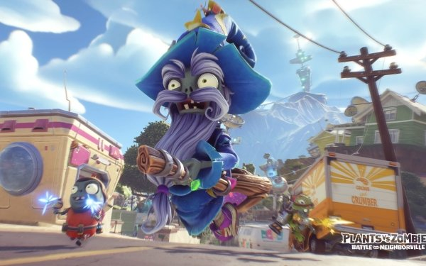 Video Game Plants vs. Zombies: Battle for Neighborville Plants Vs. Zombies HD Wallpaper   Background Image