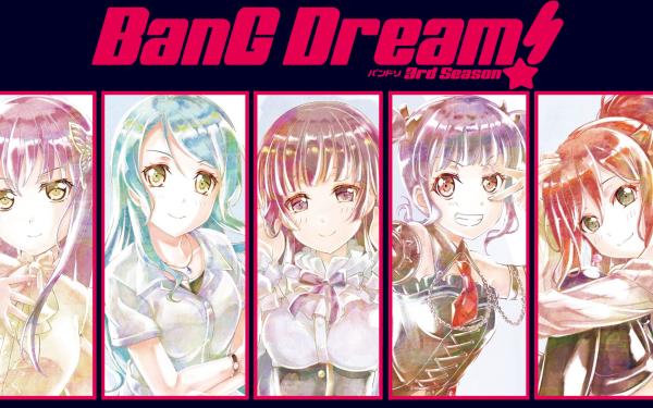 Anime BanG Dream! Girls Band Party! Fondo de pantalla HD   Fondo de Escritorio