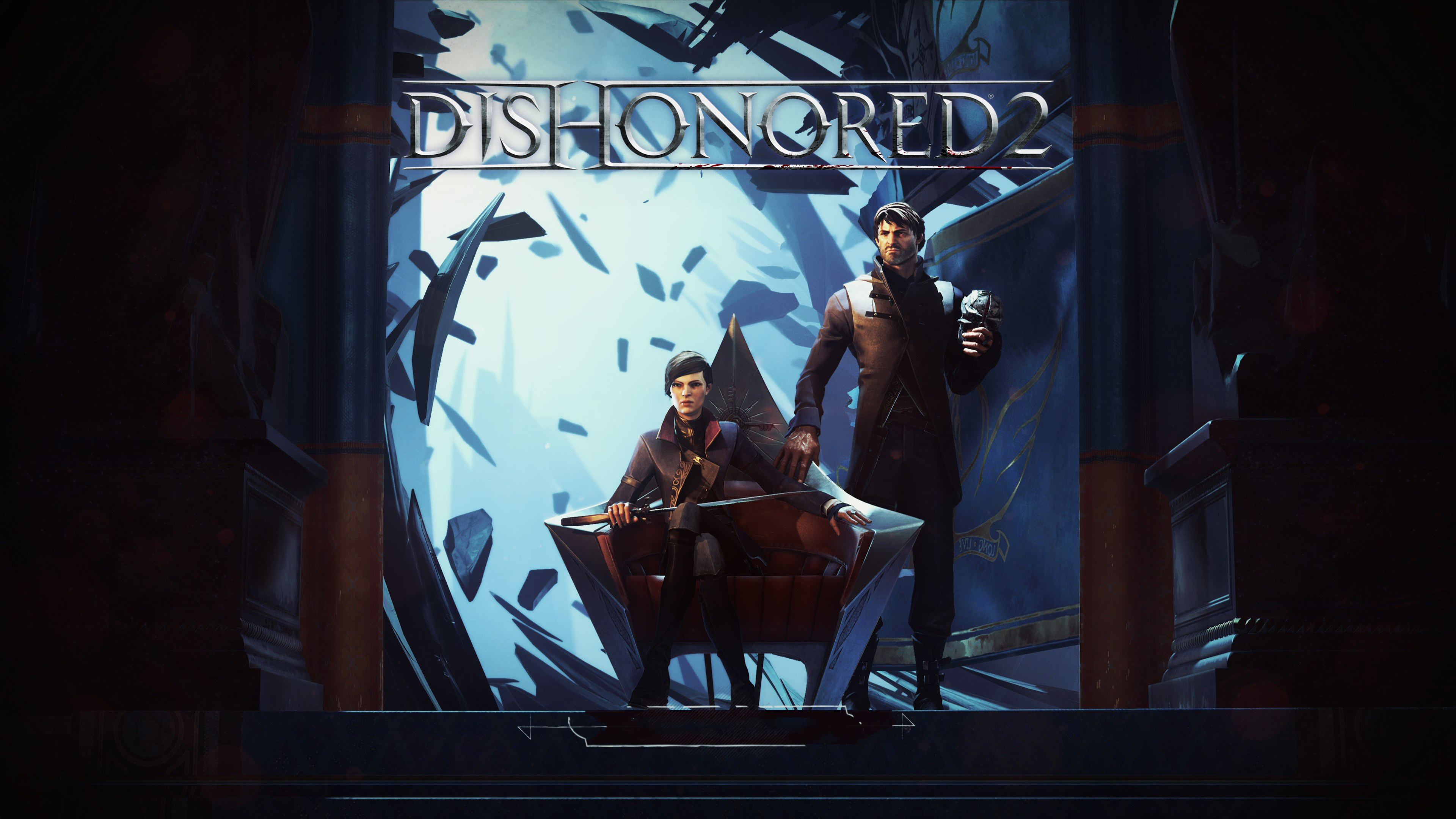 Dishonored 2 4k Ultra Hd Wallpaper Background Image 3840x2160 Id 1079443 Wallpaper Abyss