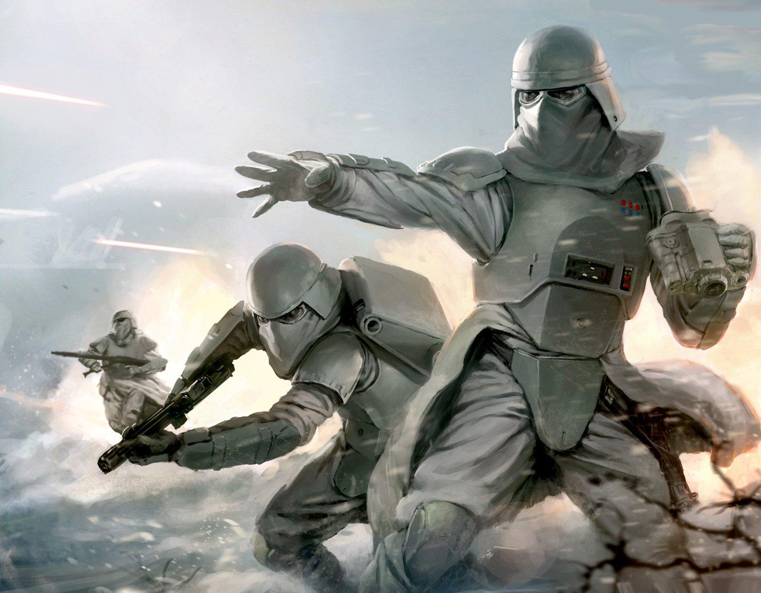 Star Wars Stormtroopers Fantasy Art Artwork Bwing Down: Star Wars Fond D'écran And Arrière-Plan