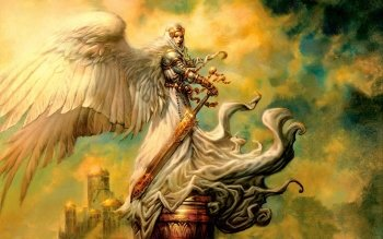 Fantasy - Angel Warrior Wallpapers and Backgrounds ID : 107005