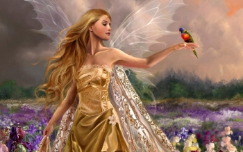 Fantasy - Fairy Wallpapers and Backgrounds ID : 107009