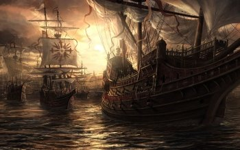 Fantasy - Ship Wallpapers and Backgrounds ID : 107275
