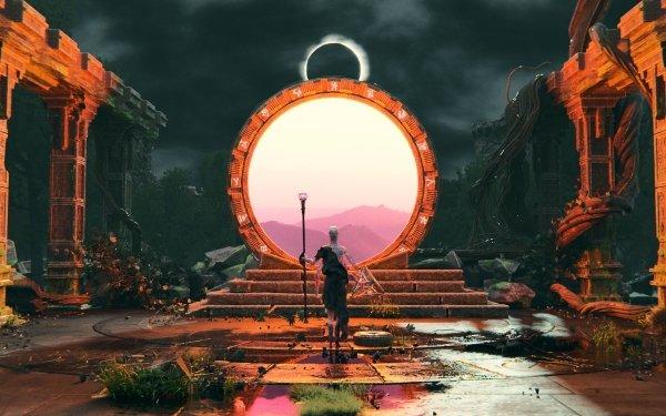 Sci Fi Portal Stargate HD Wallpaper | Background Image