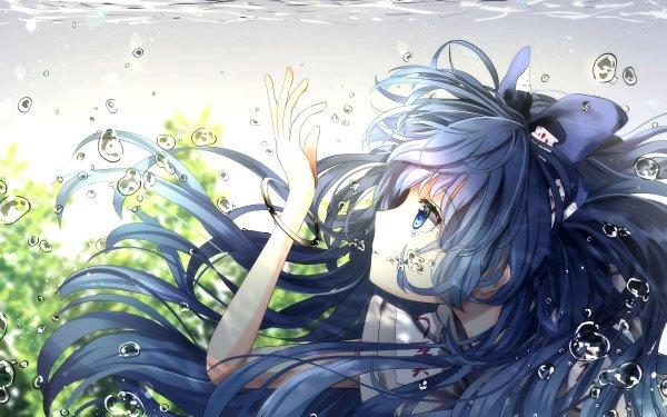 Anime Touhou Shion Yorigami HD Wallpaper | Background Image