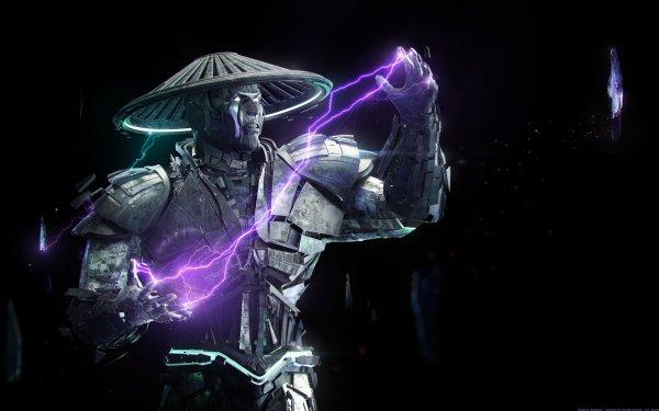 Video Game Mortal Kombat Raiden Cyborg HD Wallpaper | Background Image
