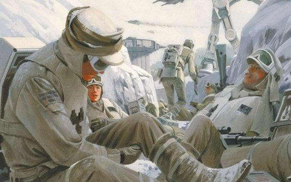Sci Fi Star Wars Hoth HD Wallpaper | Background Image